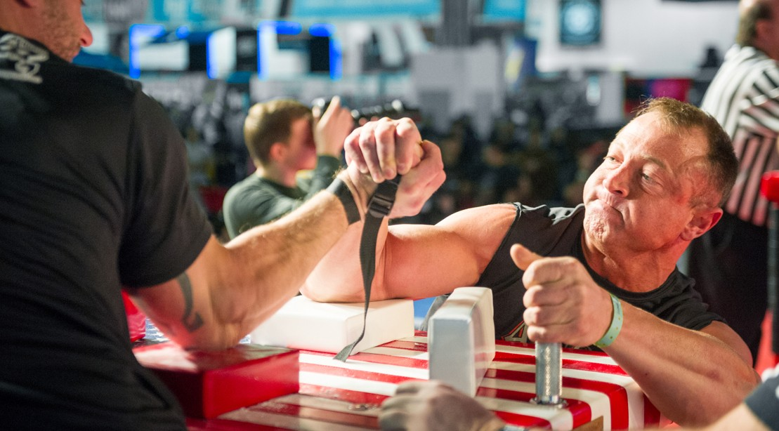 The Arnold Classic Armwrestling is a Can't Miss Event