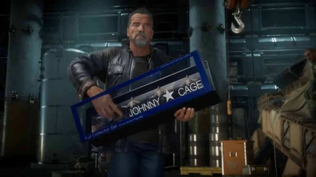 The Terminator Will be a Playable Character in Mortal Kombat 11