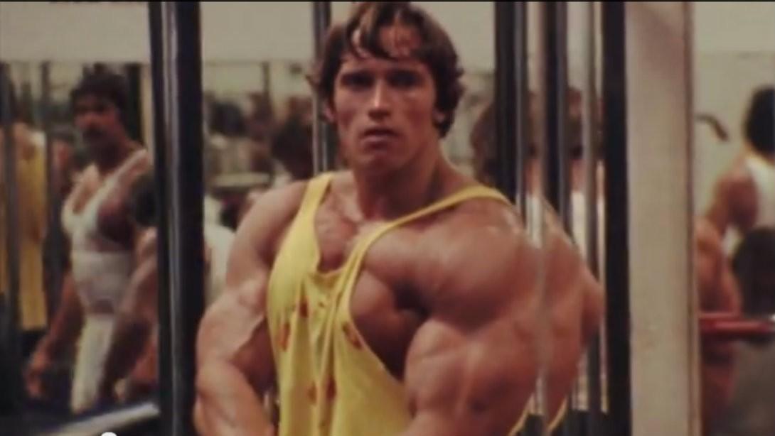 Pumping iron on digital hd muscle fitness arnold schwarzenegger voltagebd Images