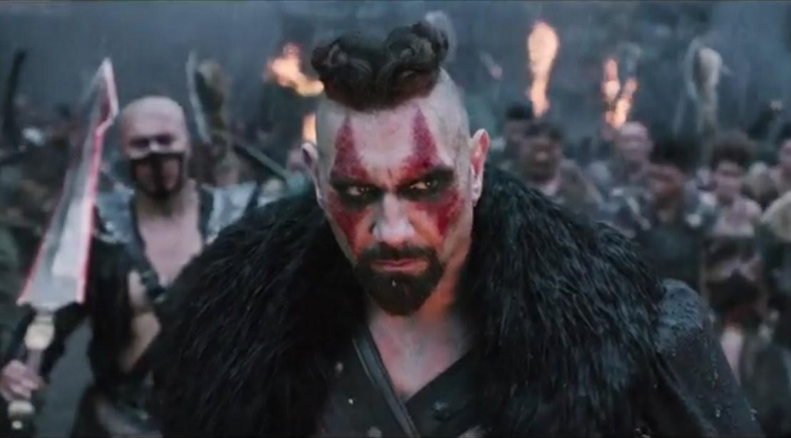 Dave Bautista In Enters Warriors Gate Trailer