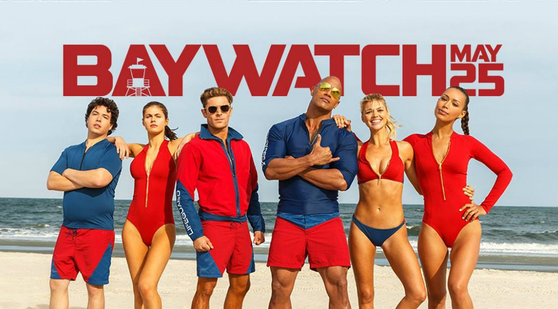 2017 Baywatch Cast Movie Poster