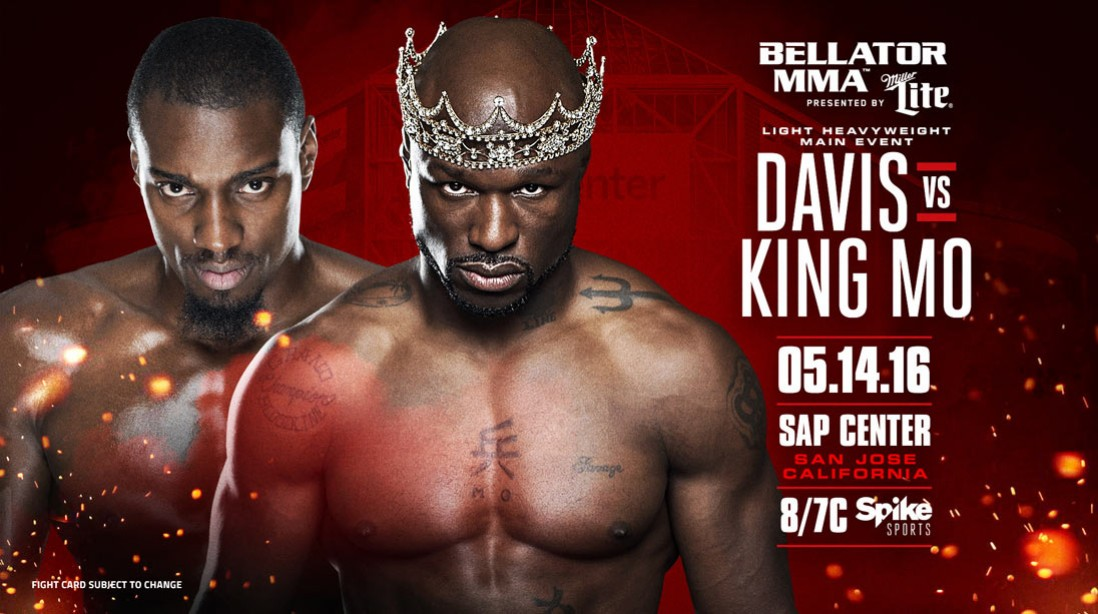 Win a Trip to See Davis Vs King Mo at Bellator 154