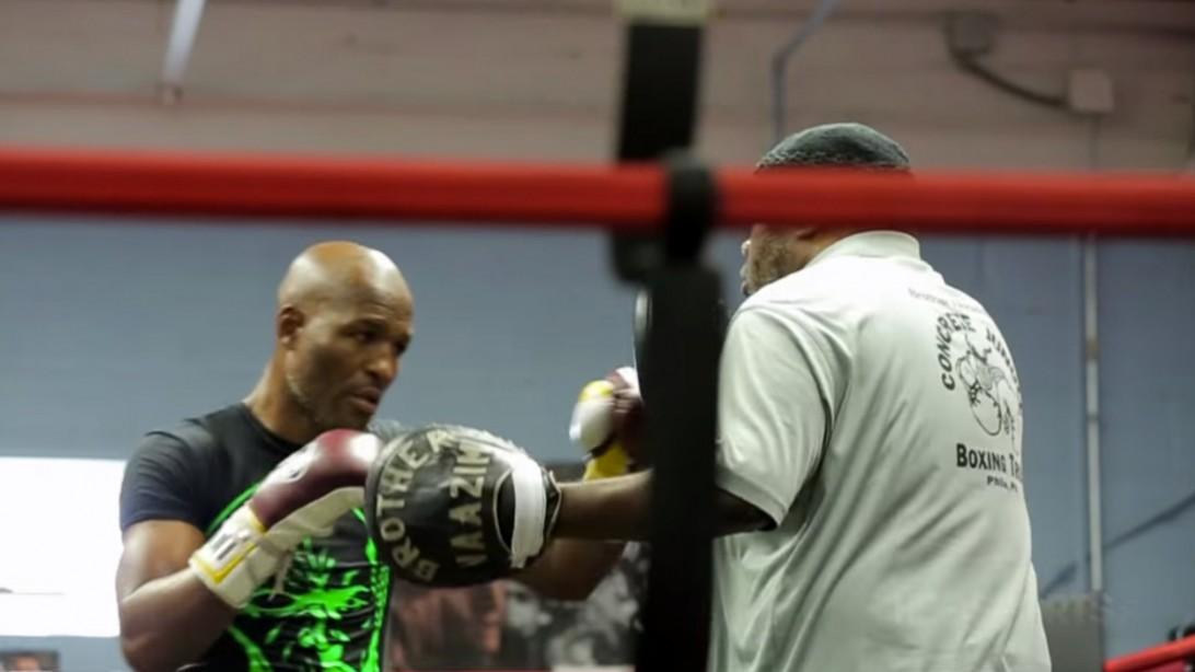 Professional Boxer Bernard Hopkins