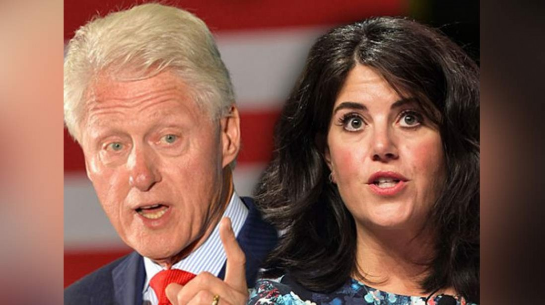 Return Of The Semen Stained Dress! Bill's 'Secret Son' Begs Lewinsky For DNA Sample