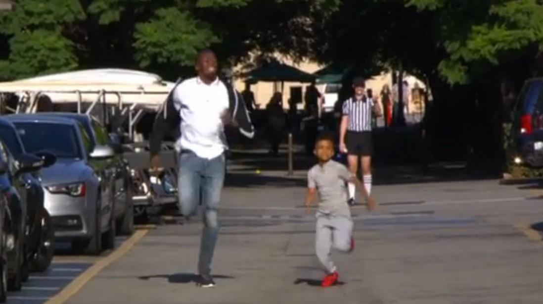 8-year-old Training Phenom Smokes Usain Bolt on 'Ellen'