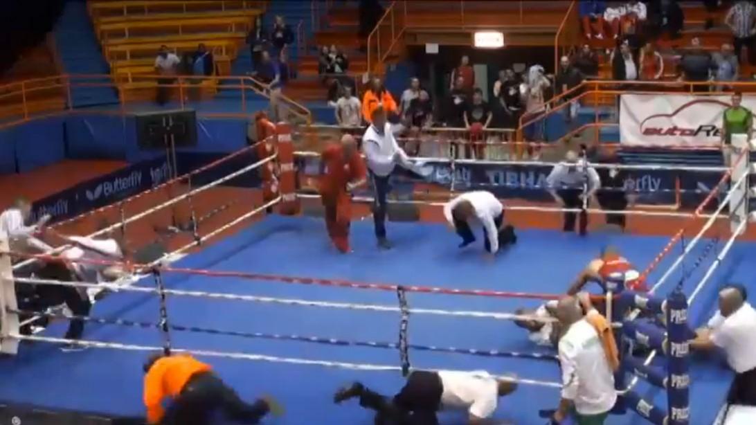 Vido Loncar Attacks Referee