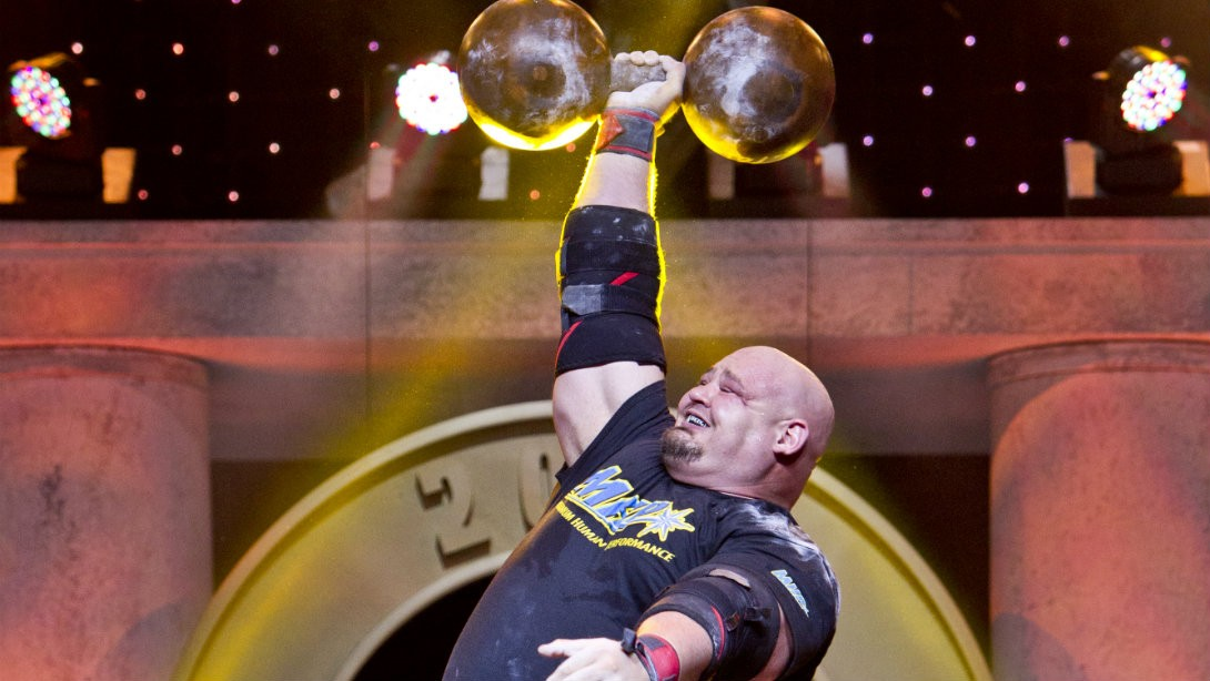 Brian Shaw Strongman Winner