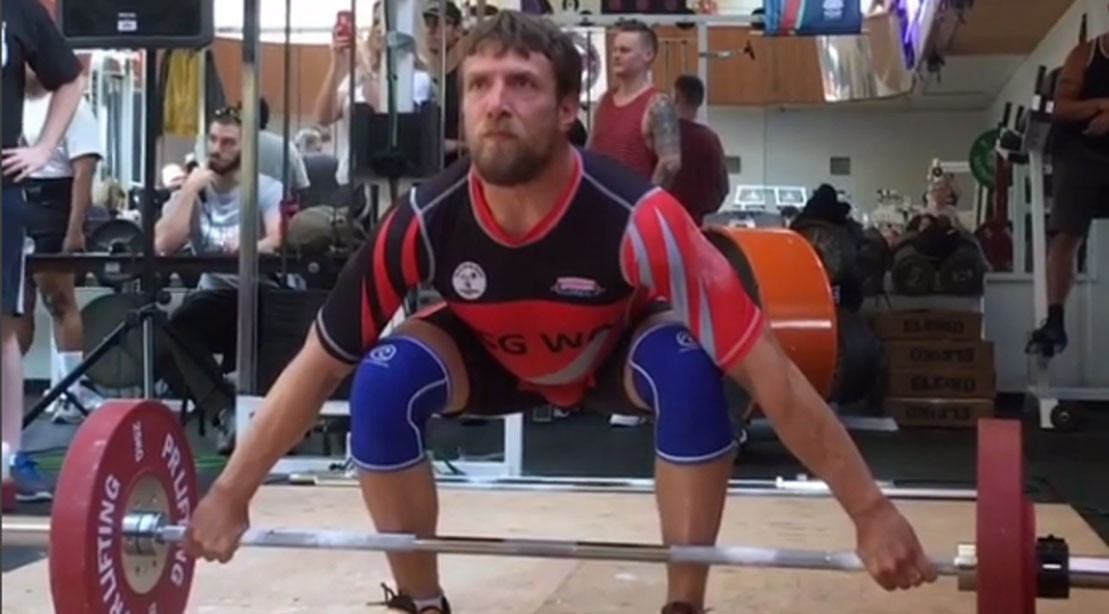 Bryan Danielson Is Crushing Olympic Lifts