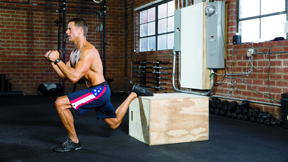 Split Decision to Torch Fat While Building Your Hamstrings