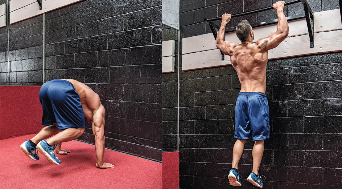 Blast Your Muscles With This Burpee-Pullup Combo to Burn Fat