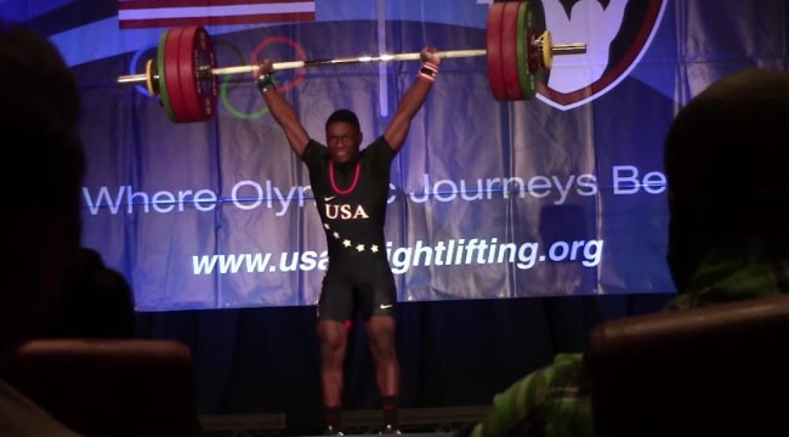 C.J. Cummings American Weight Lifter