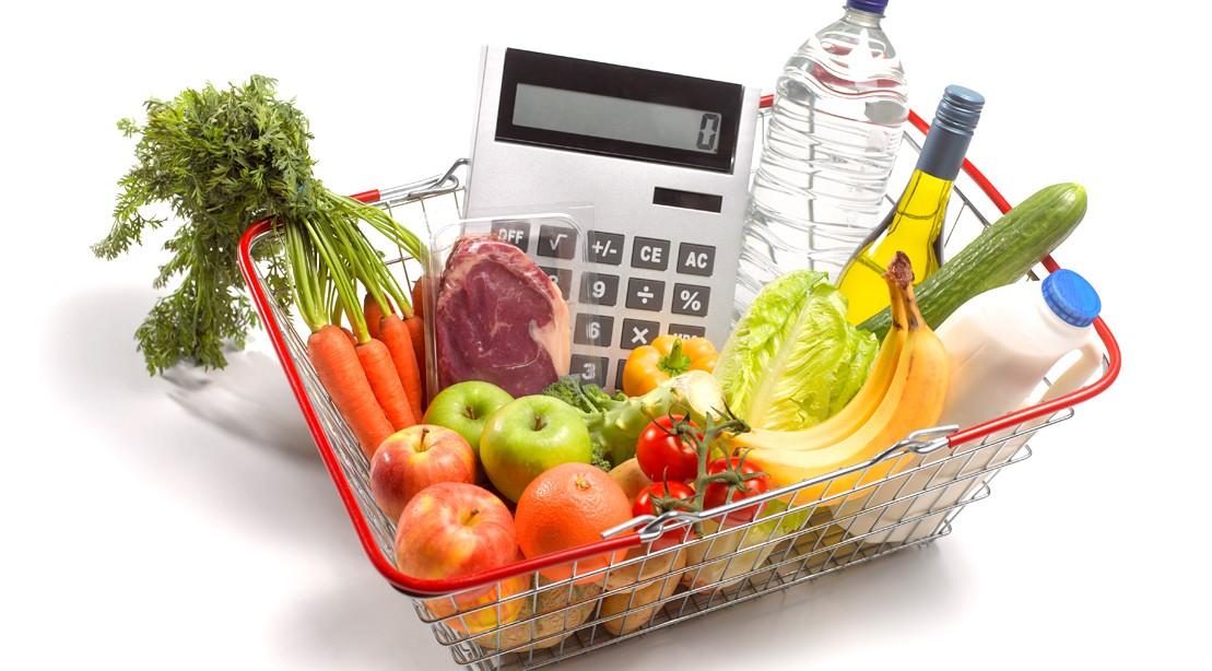 Calculator Food Basket Calories