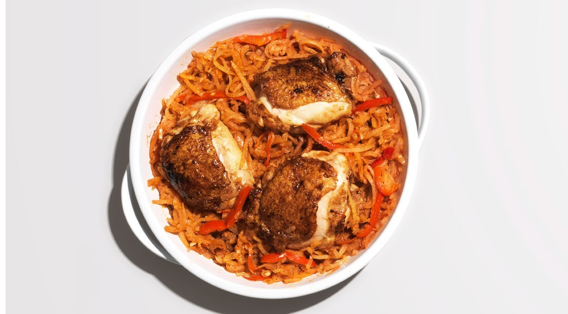 5 Low-Carb, Protein-Packed Meal: Chicken Paprikash