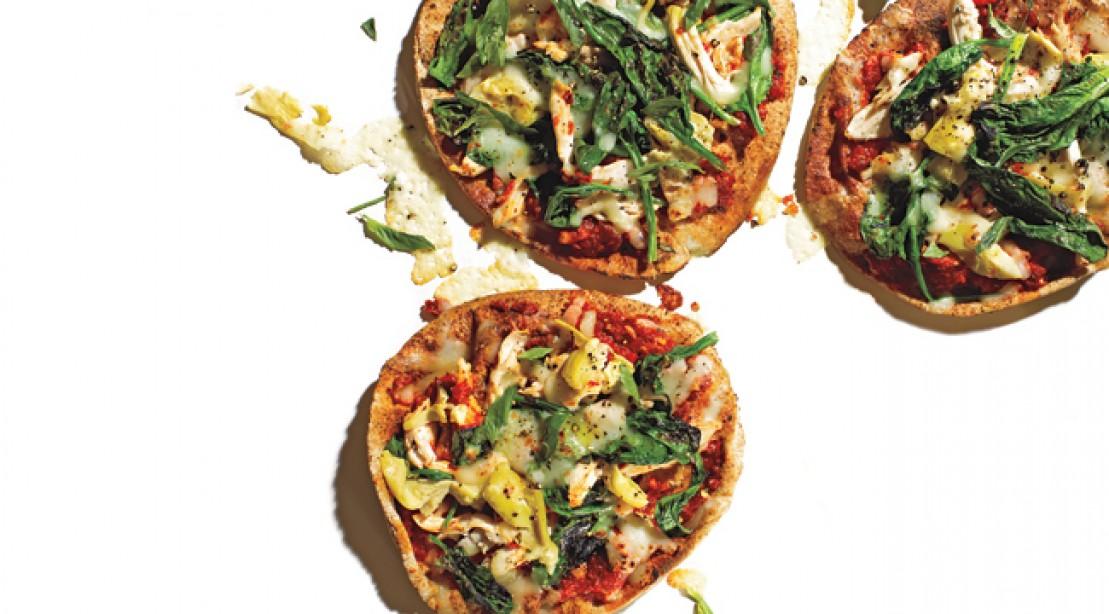 Quick Meals: Chicken Pita Pizza