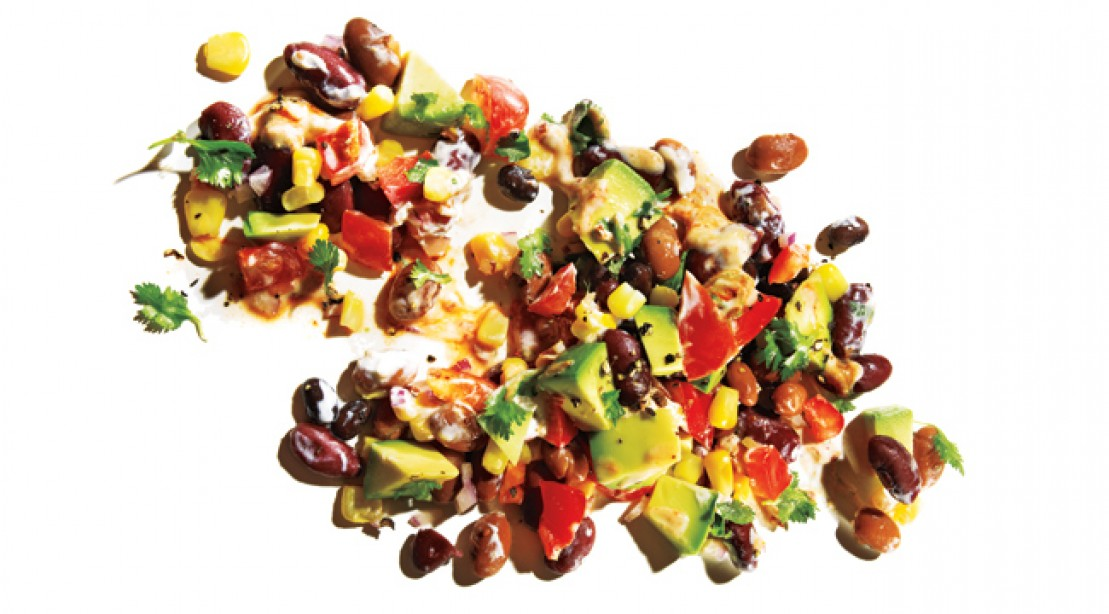 Ten-Minute Muscle Meal: Chipotle Bean Salad