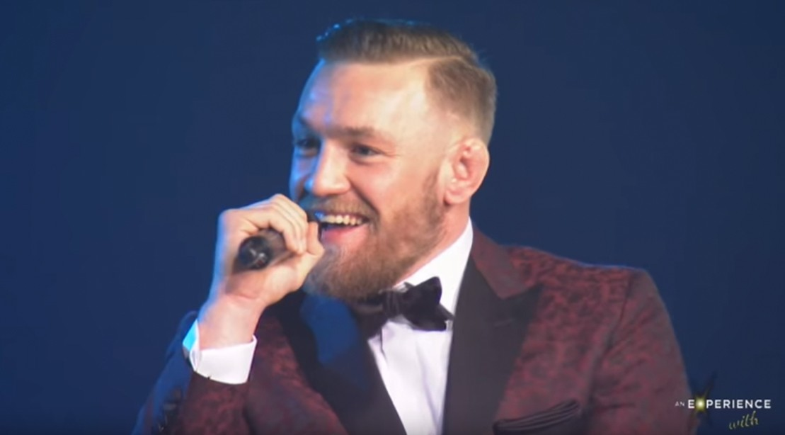 "McGregor tells Dana White, ""Come at me with the s**t I want to hear"""