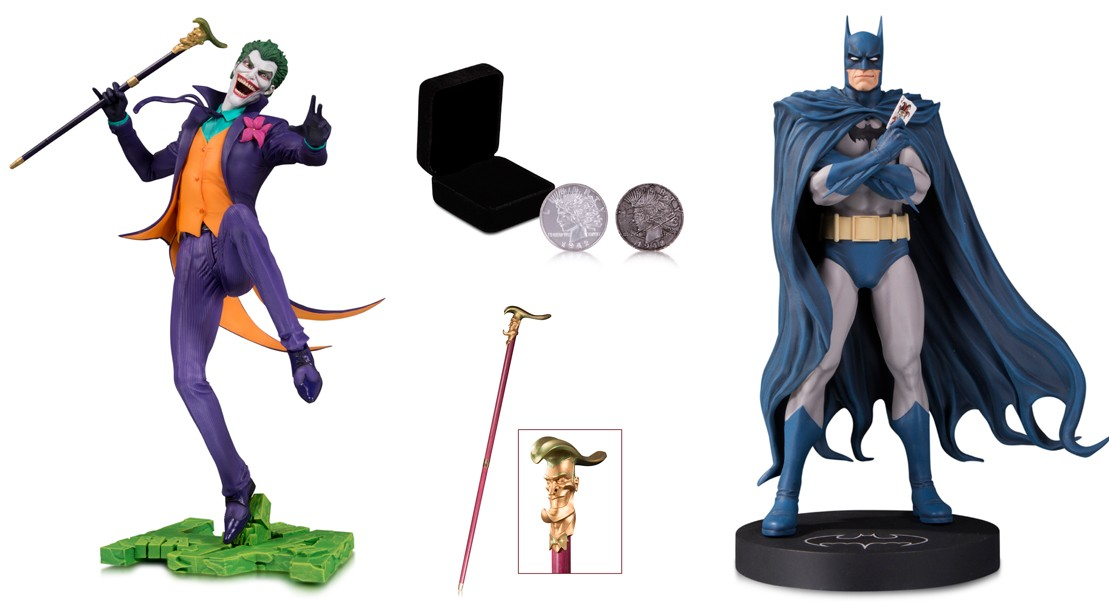 Enter to Win These Limited-Edition DC Collectibles