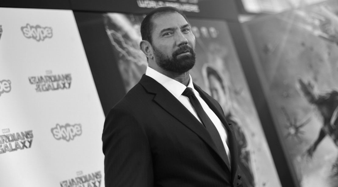 "Actor Dave Bautista attends the after party for The World Premiere of Marvel's epic space adventure ""Guardians of the Galaxy,"" directed by James Gunn"