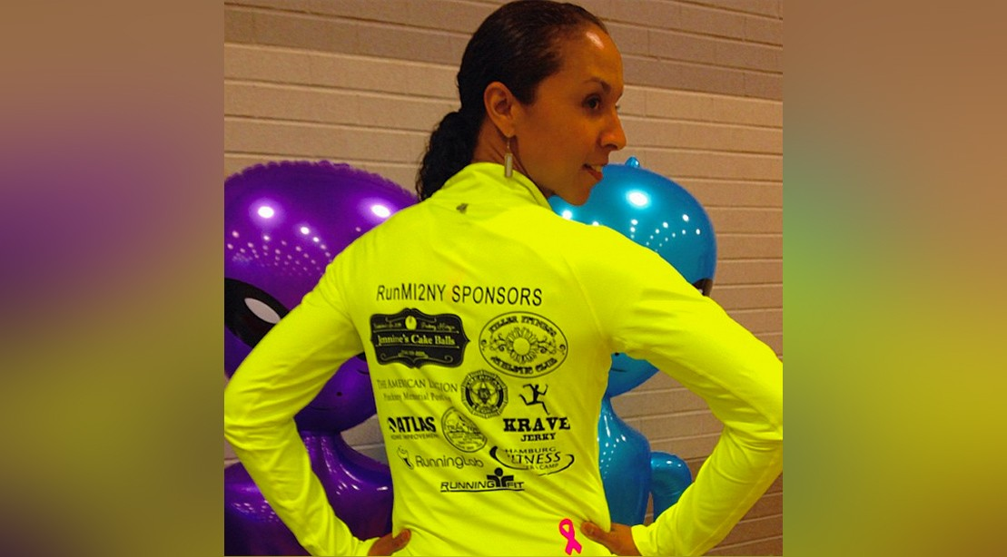 Breast Cancer Survivor Raises over $5,000 by Running Over 1,000 Miles