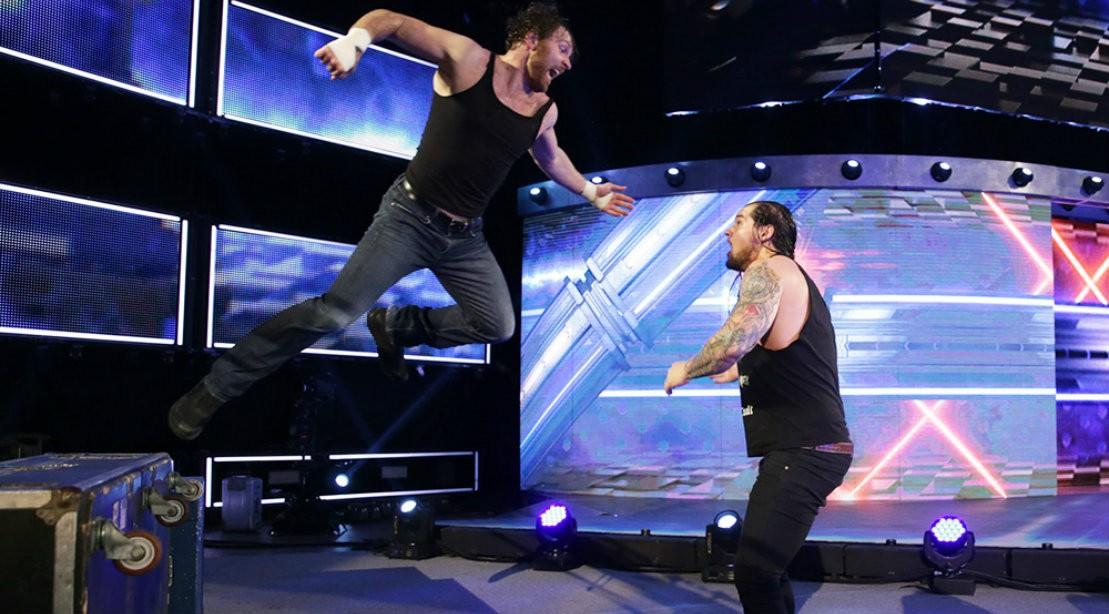 Dean Ambrose on WWE Raw