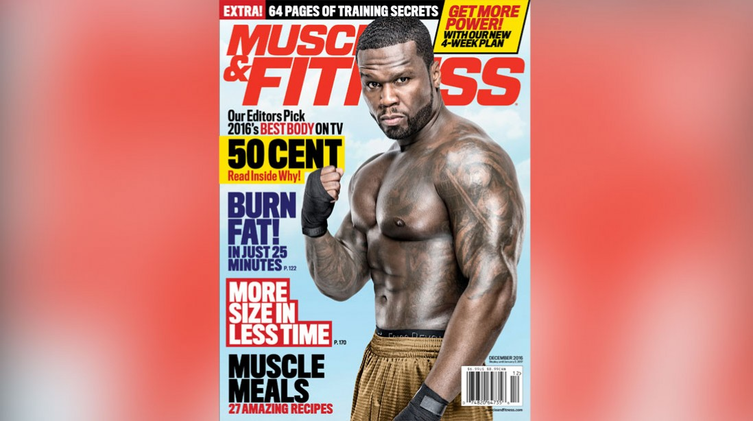 Get the December Issue of 'Muscle & Fitness' on Newsstands Now
