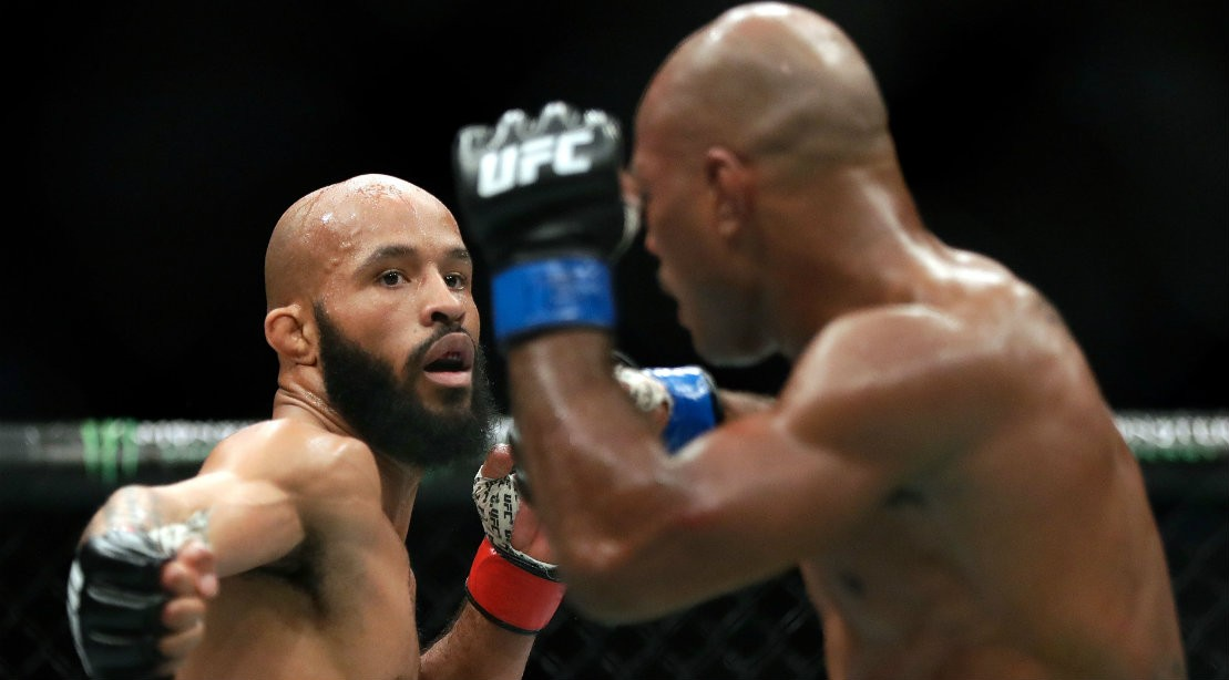 UFC Flyweight Demetrius Johnson Fighting