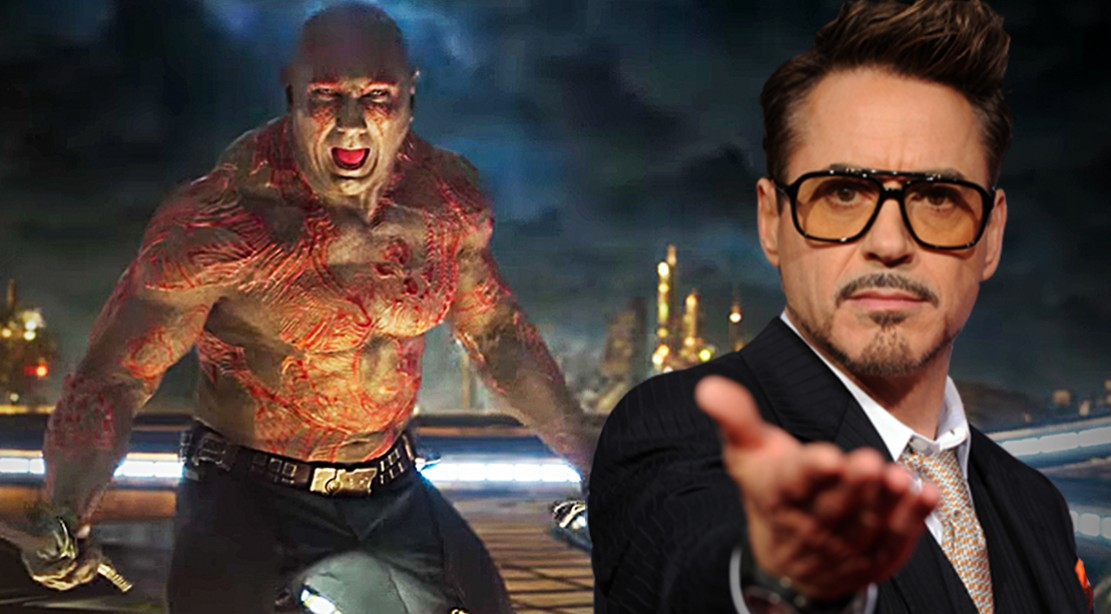 Guardians of The Galaxy's Drax and Iron Man's Tony Stark might meet in next Marvel movie.