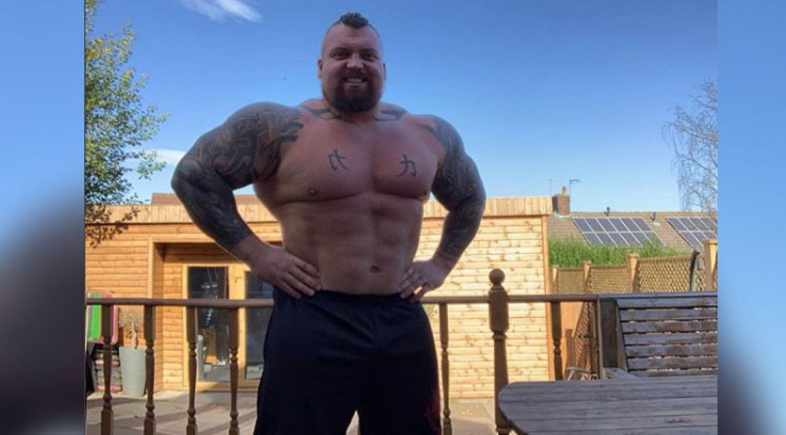 Eddie Hall's Transformation