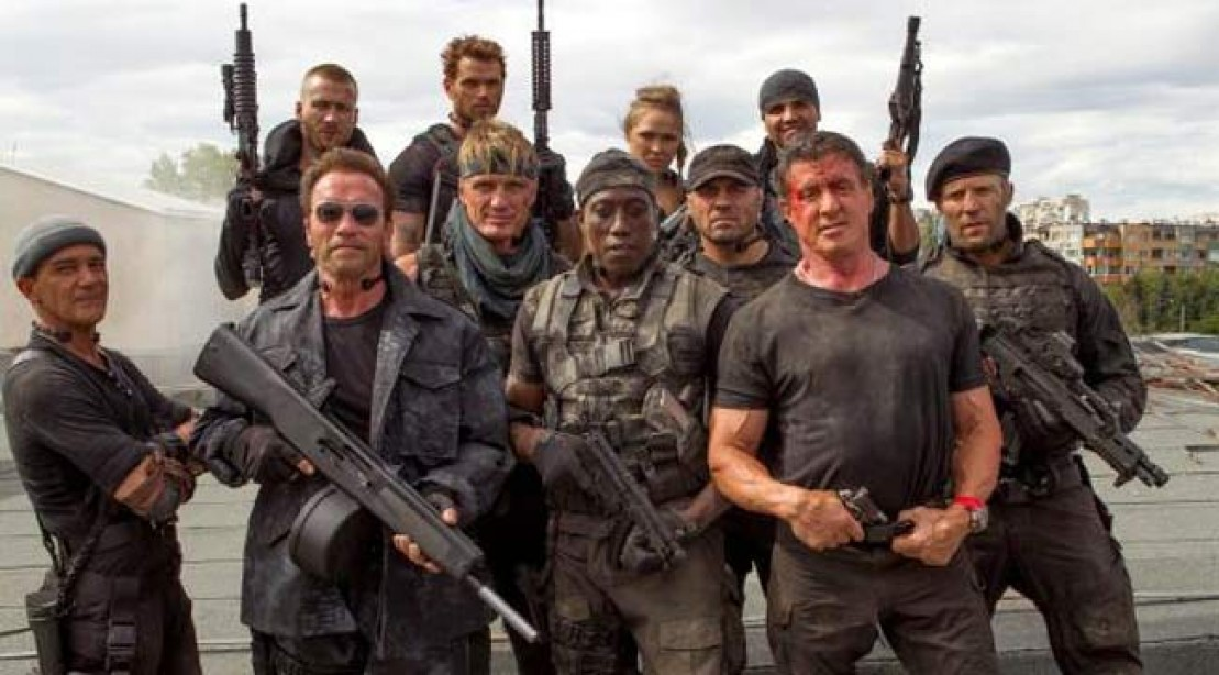 Expendables 3 Group Shot