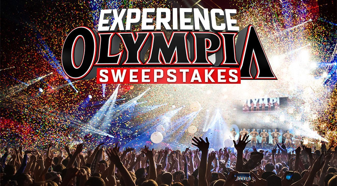 """Enter the """"EXPERIENCE OLYMPIA"""" Sweepstakes"""