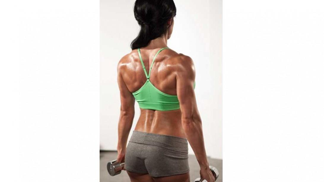 Felicia Romero's back