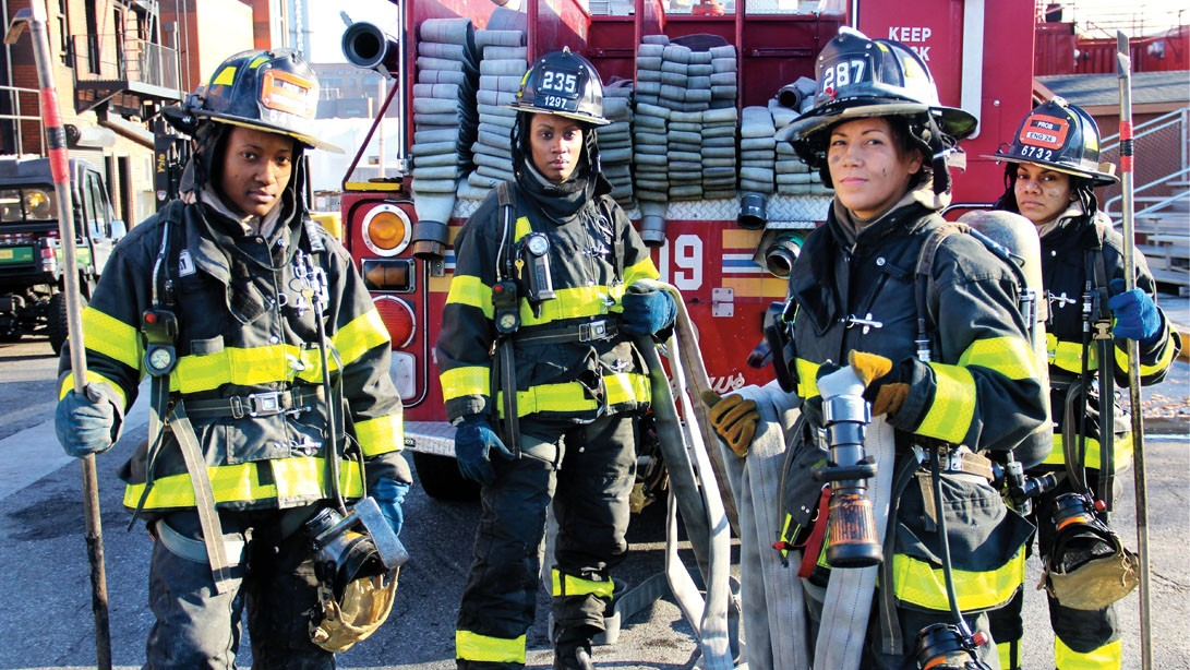 Fit in Action: Here's How Female Firefighters Train for the Job