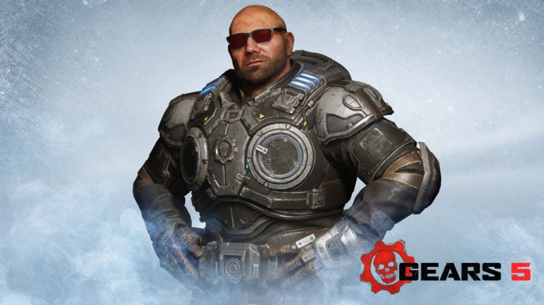 Dave Bautista will be a Playable Character in Gears of War V
