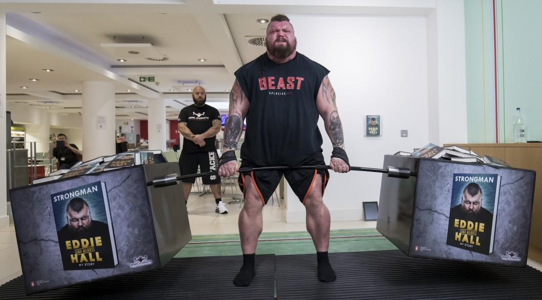 2017 World's Strongest Man, Eddie Hall Deadlifting 536 kilograms