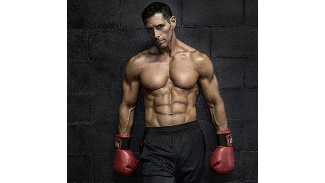 Sexy male fitness models