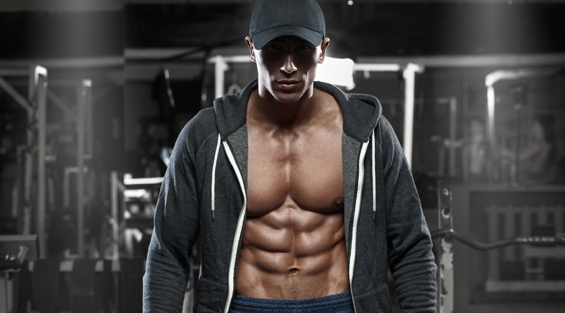 Guy-Hat-Hoodie-Showing-Off-Abs-and-Chest