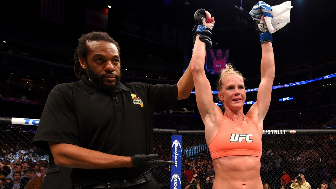 UFC Fighter Holly Holm Discusses her MMA career