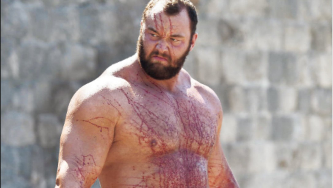 Hafthór Bjornsson - Game of Thrones Mountain