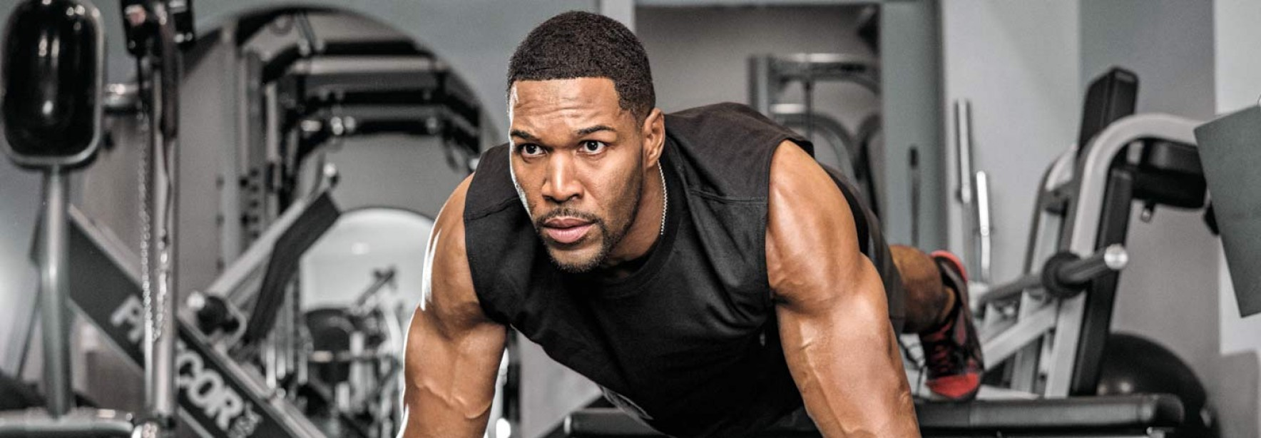 Michael Strahan's Conditioning Workout