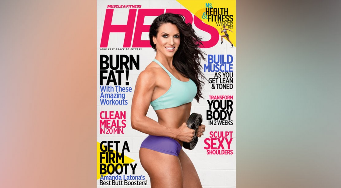 Get the Fall Issue of 'Muscle & Fitness Hers' on Newsstands Now