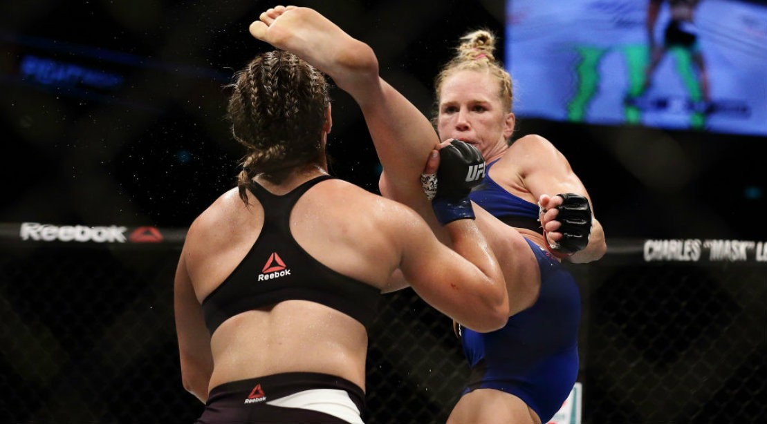 WATCH: Holly Holm KO's Bethe Correia with Vicious Head Kick