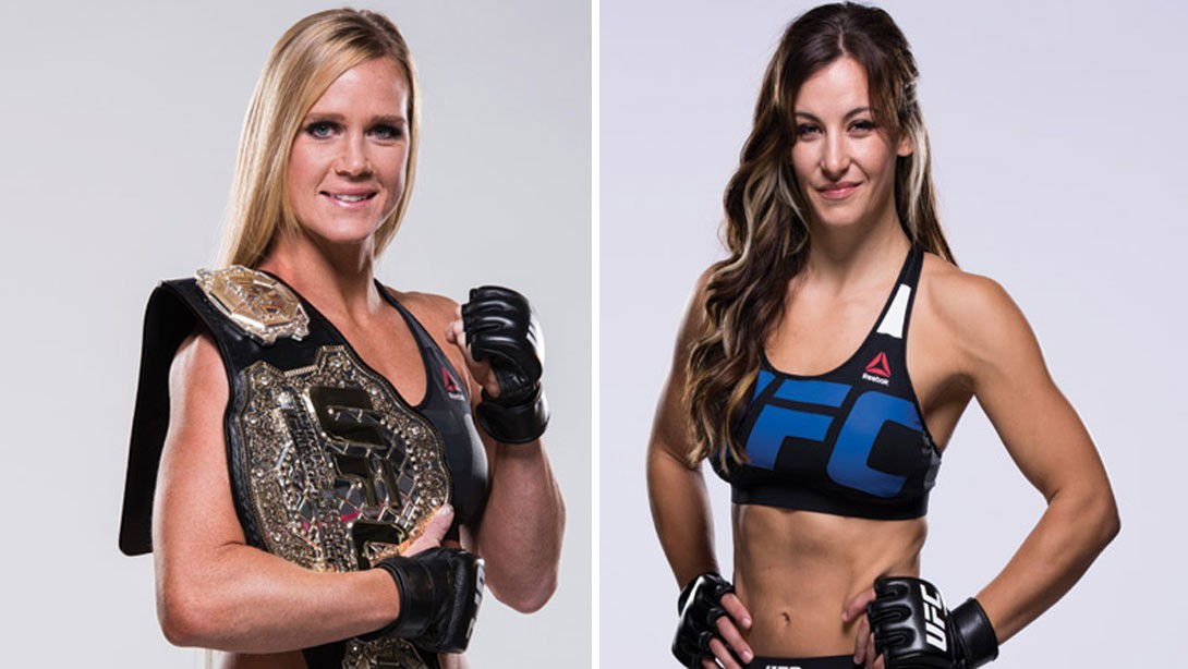 Everything You Need to Know About Holly Holm & Meisha Tate's UFC 196 Prep
