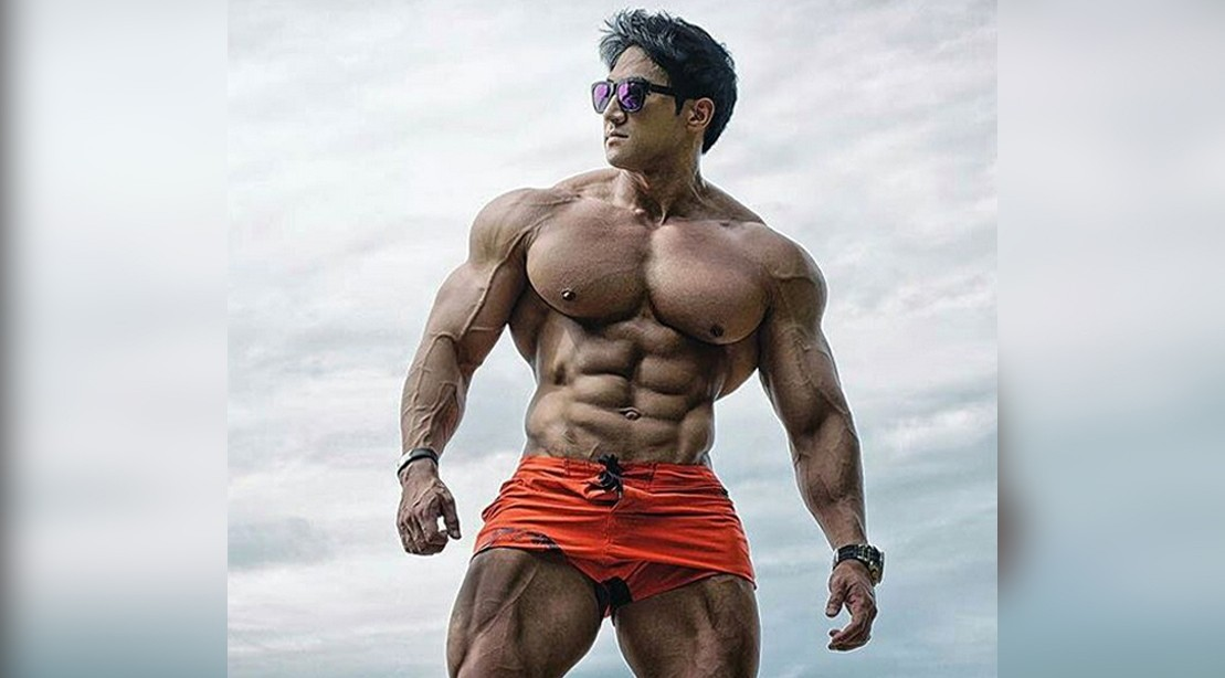 Asian gallery man muscular