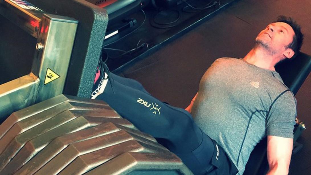 Hugh Jackman Leg Day