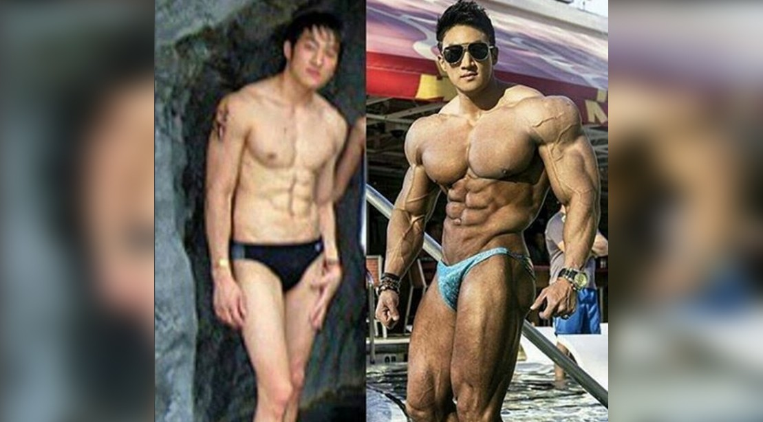 Risk Video clips of asian bodybuilding workouts something
