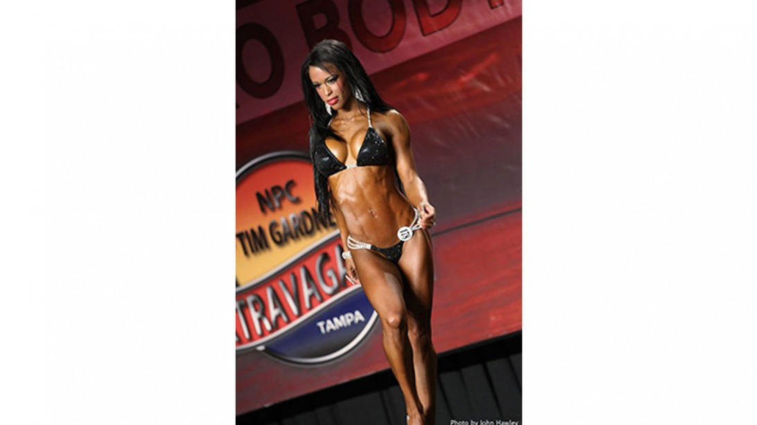 India Paulino in competition