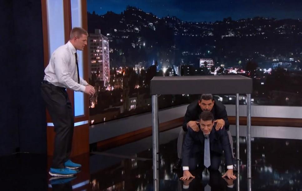 J.J. Watt on Jimmy Kimmel