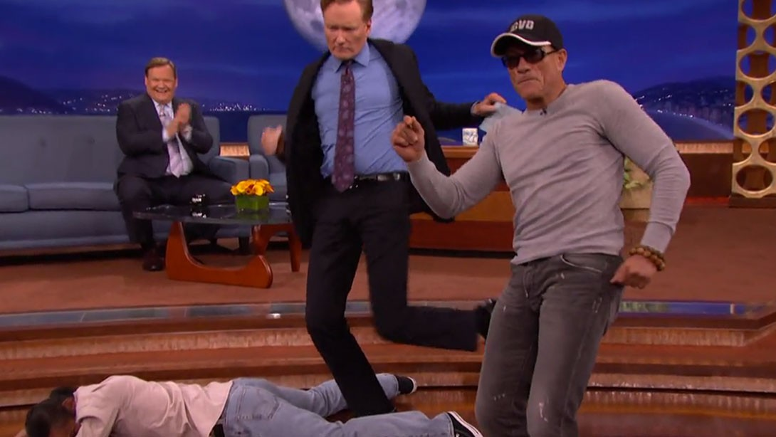 Jean-Claude Van Damme Does Recreates 'Kickboxer' Dance