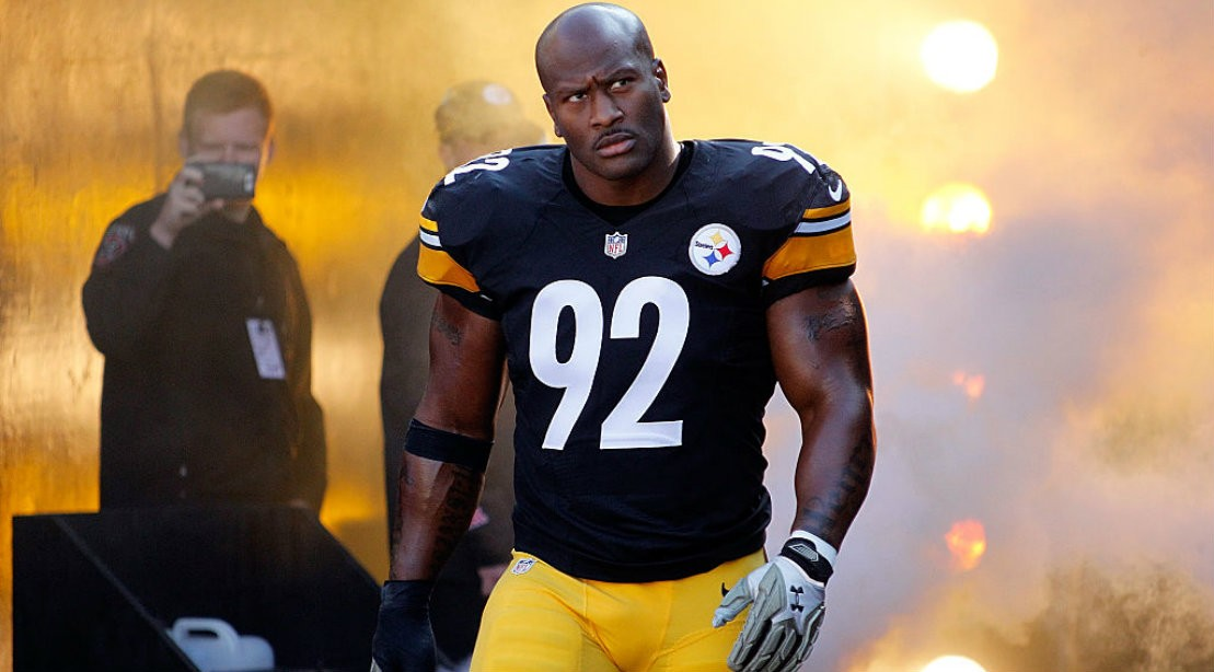 James Harrison Adds the Chains for Greater Gains