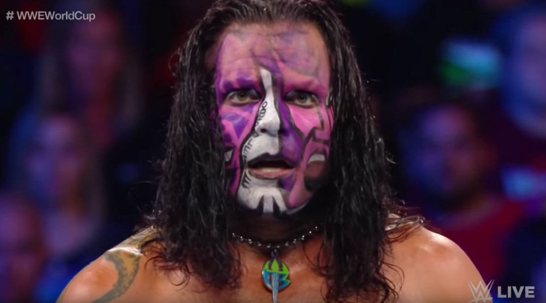 Jeff Hardy on WWE Smackdown